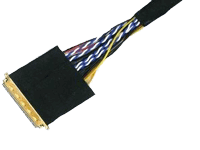 LVDS cable for industrial TFT LCD panels