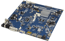 TFT controller board for 4k/UHD LCD panels with HDMI, DVI and VGA