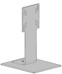 Pedastal for VESA mounted monitors